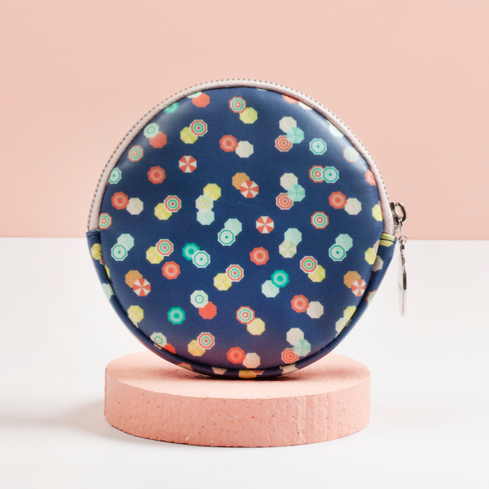 ROUND PURSE (MEDIUM) - CAPRI