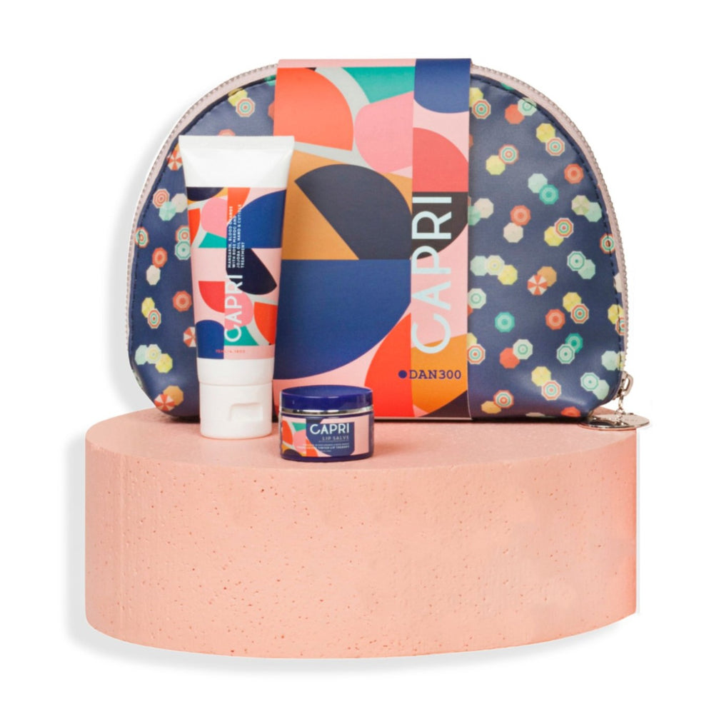 THE BEAUTY BAG 3 PIECE GIFT SET- CAPRI