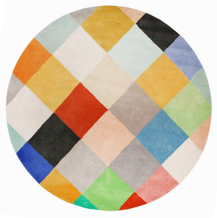 COLOURMAP HAND TUFTED RUG (All-ware) ROUND 200cm
