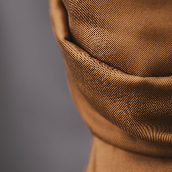 Smooth Drape Twill 210 g · Mustard
