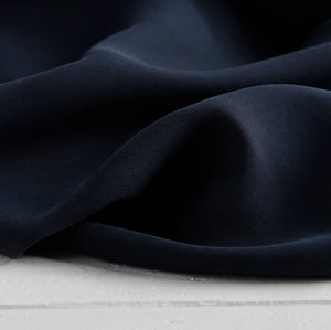 Navy – Tencel Twill Medium