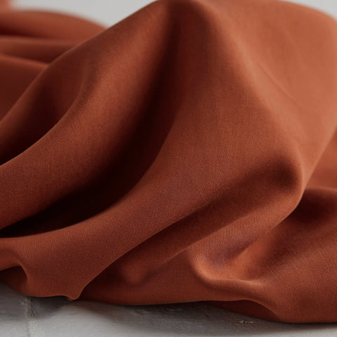 Rust – Tencel Twill Medium