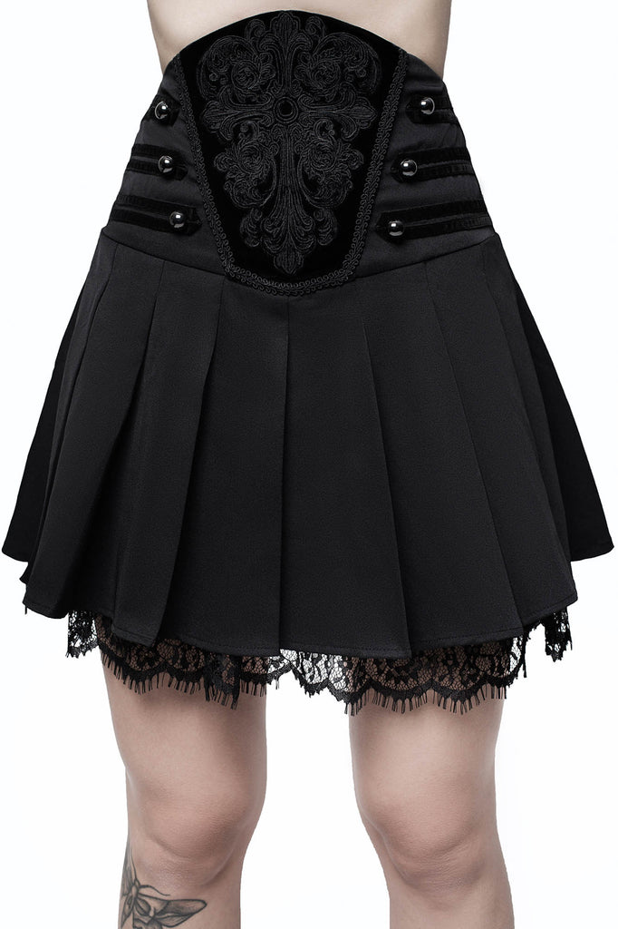 Abbey Pleated Skirt