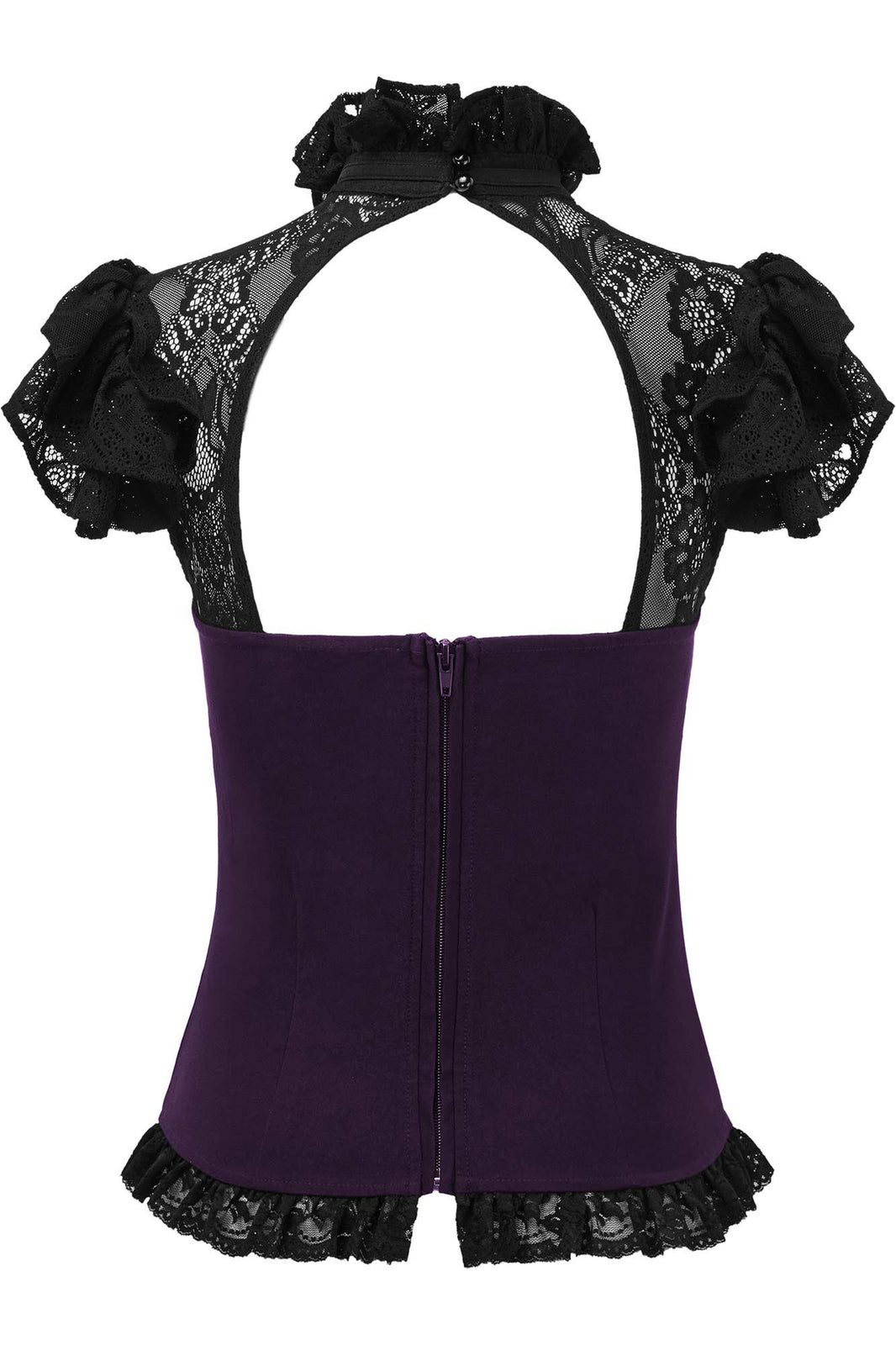 Avalyn Top [PLUM]