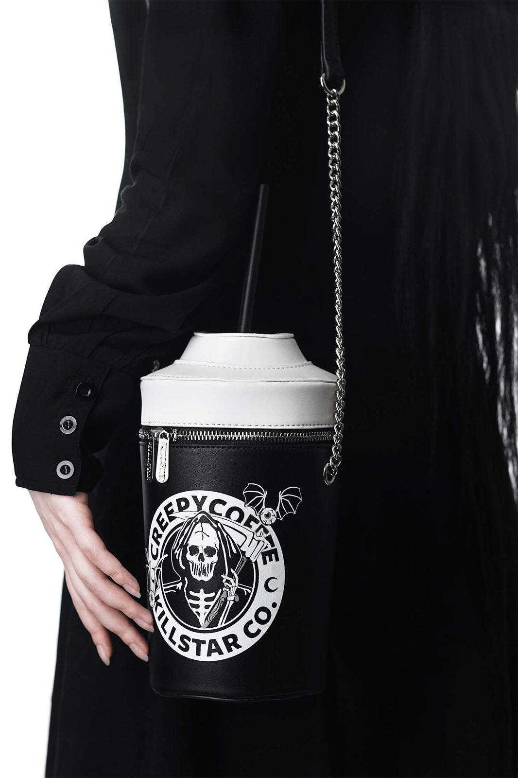 Creepy Coffee Handbag