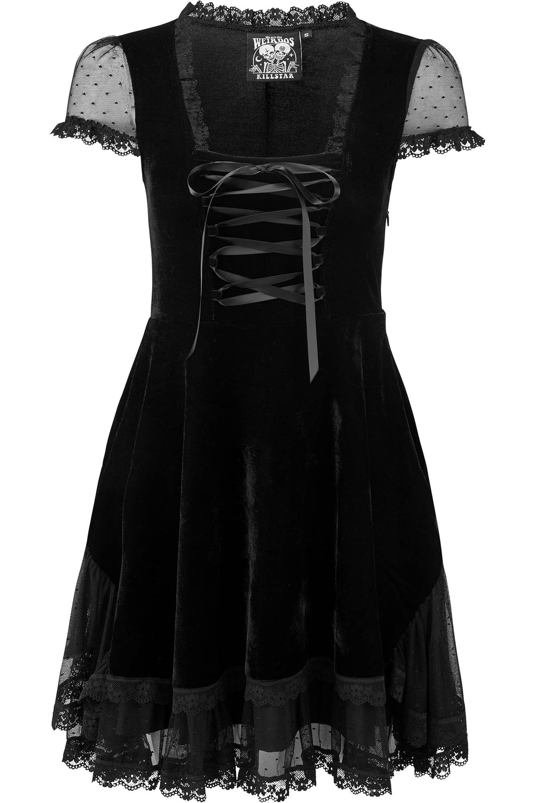 Delora Velvet Dress