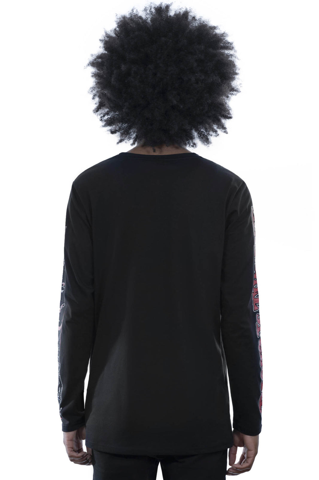Dial Vamp Long Sleeve Top