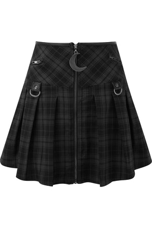 Kristen Pleated Skirt [TARTAN]