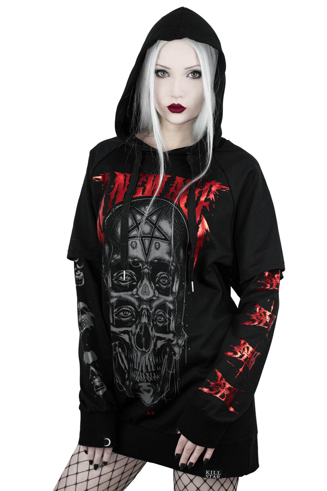 New Age Hooded Top
