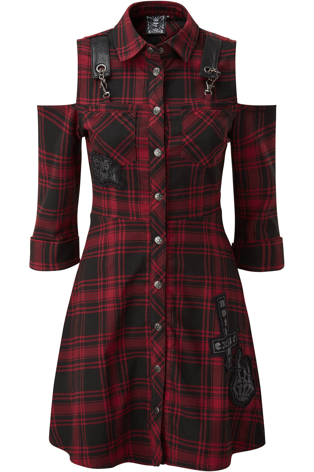 Paranormal Shirt-Dress [TARTAN]