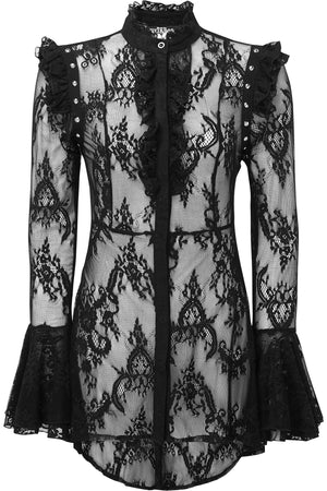 She's Wicked Lace Blouse