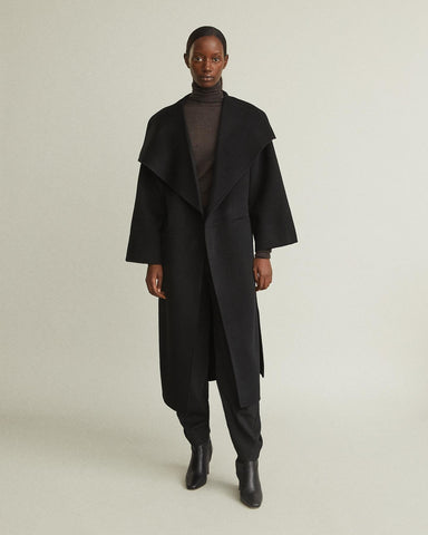 Annecy Wool Cashmere Blend Coat