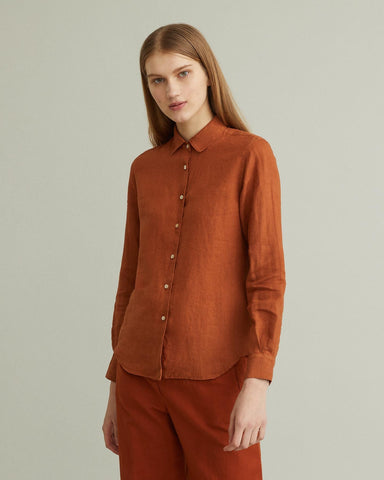 Linen Button-down
