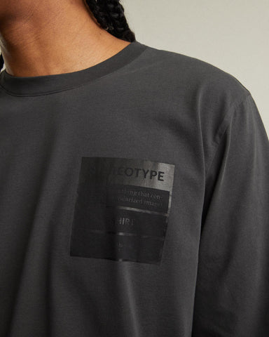 Long Sleeve T-Shirt With Stereotype Print At Chest