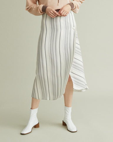 Glow striped skirt