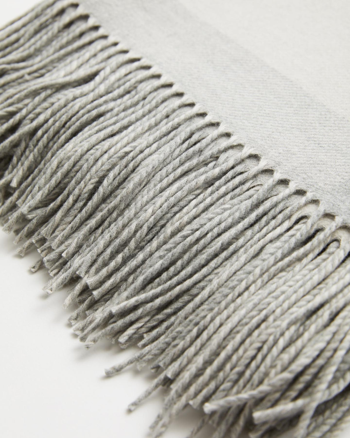 Sloane Wool and Cashmere Blanket Throw