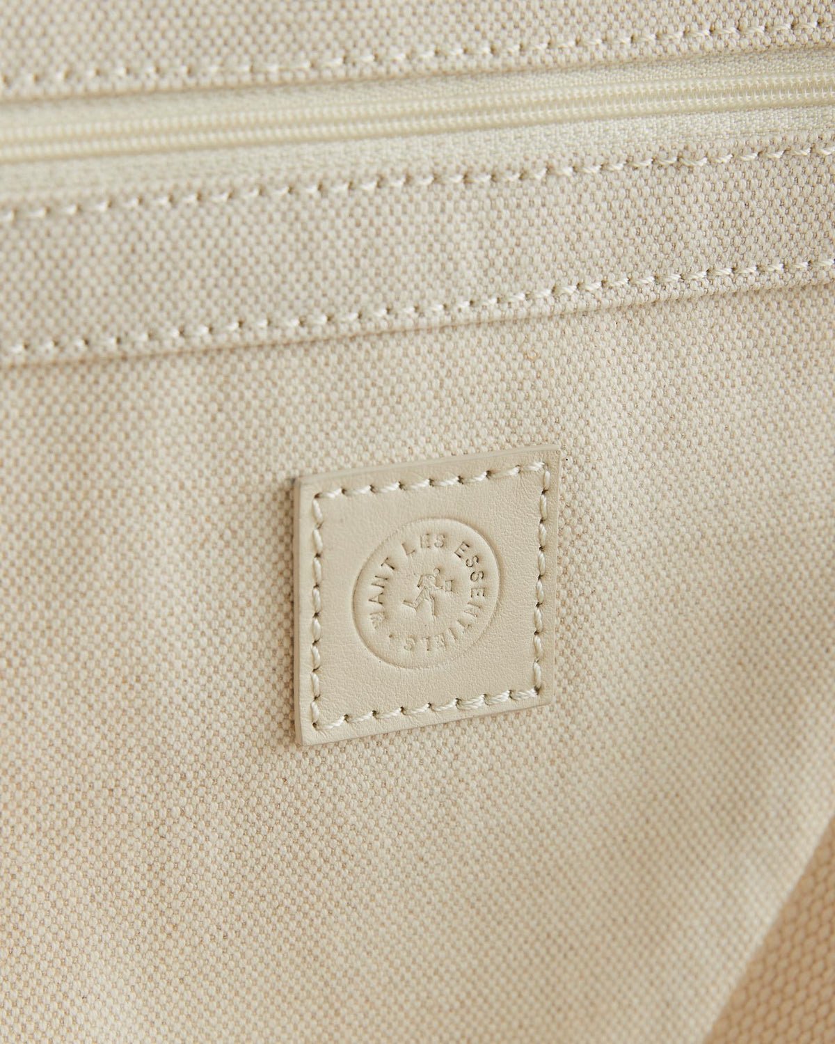 Kiev Cotton Linen Blend Open Tote