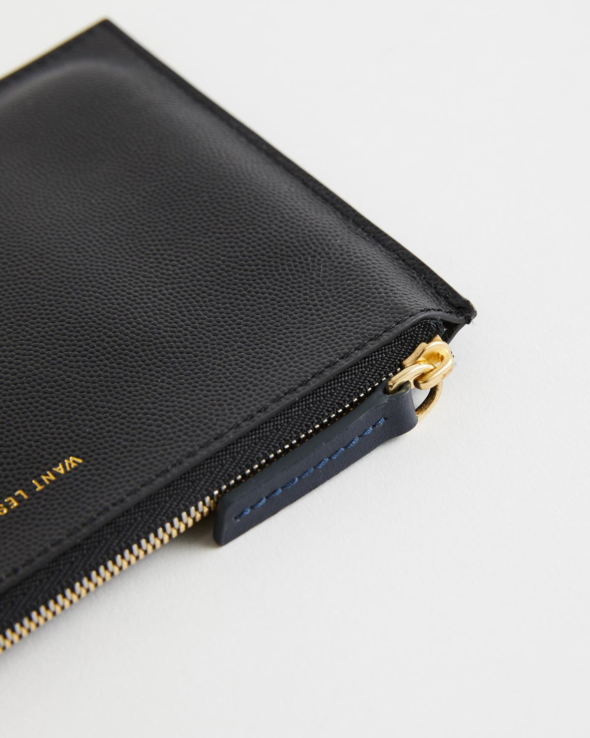 Lawrence Leather Zip Pouch