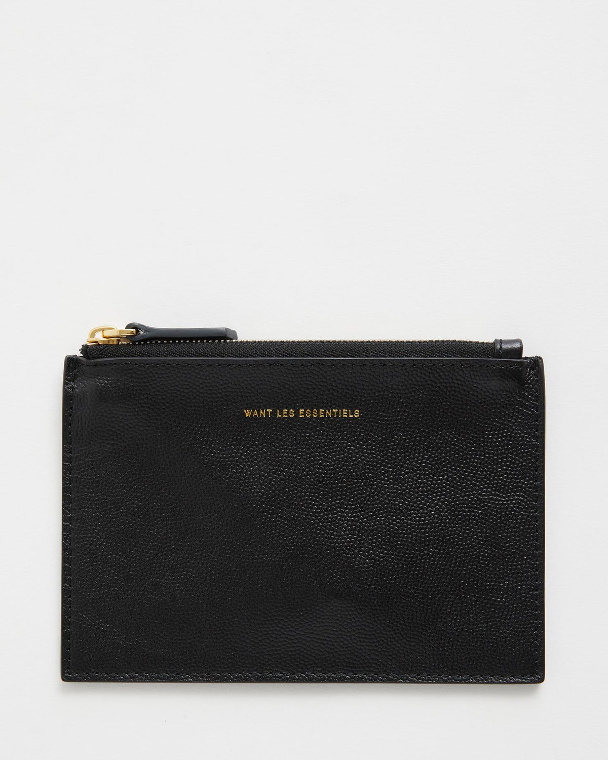 Mini Lawrence Leather Zip Pouch