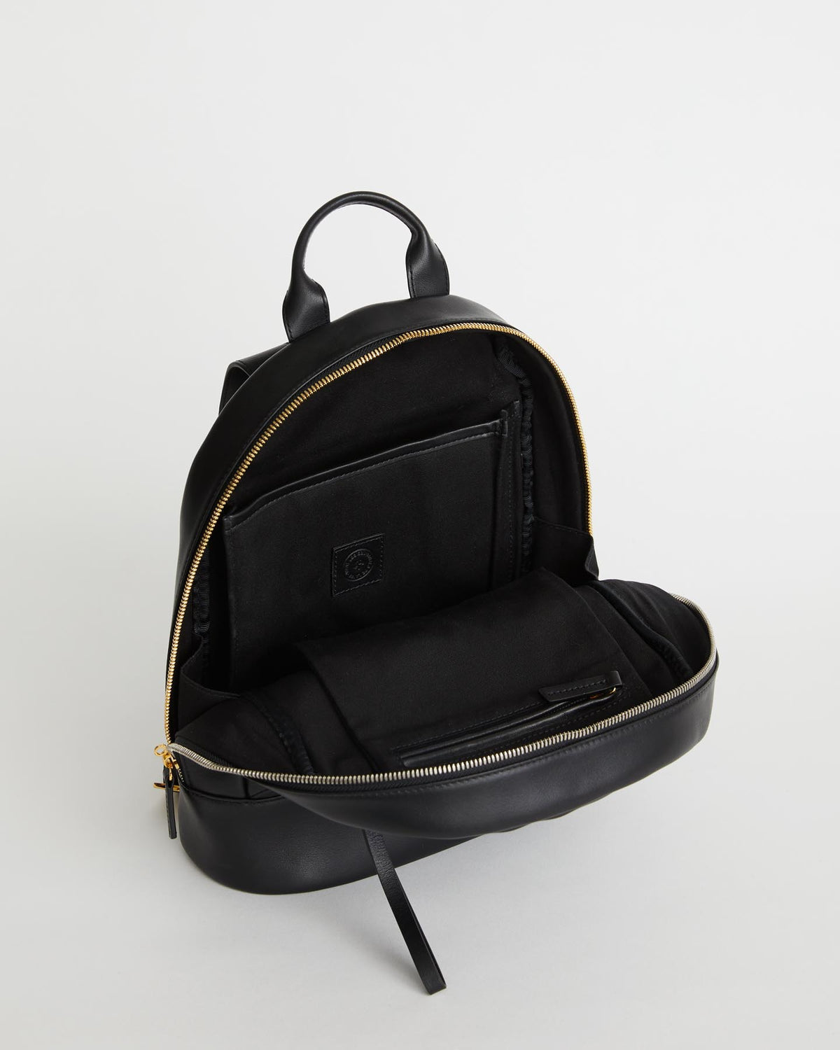 Mini Piper Leather Backpack