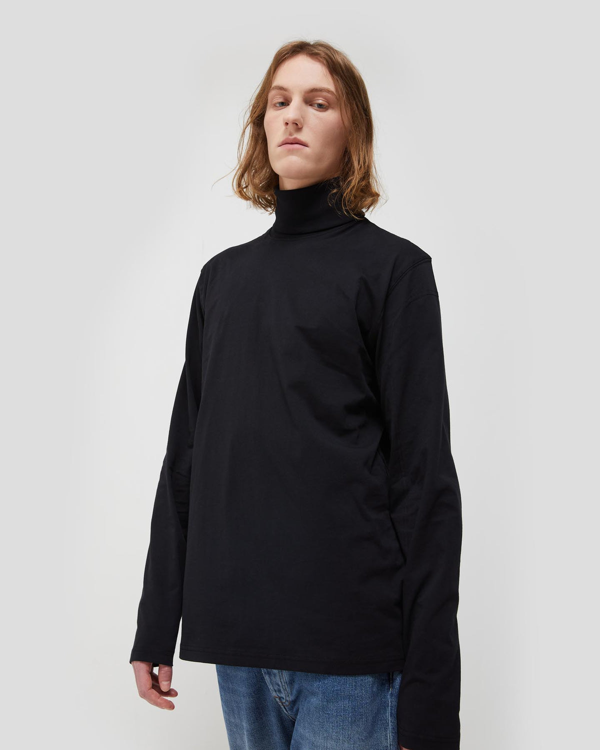 Meier Unisex Turtleneck T-Shirt