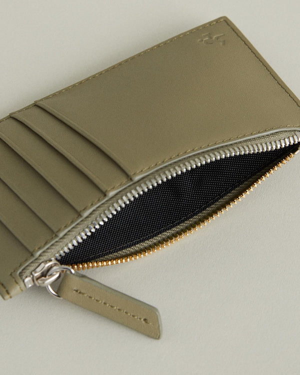 Adano Leather Zipped Cardholder