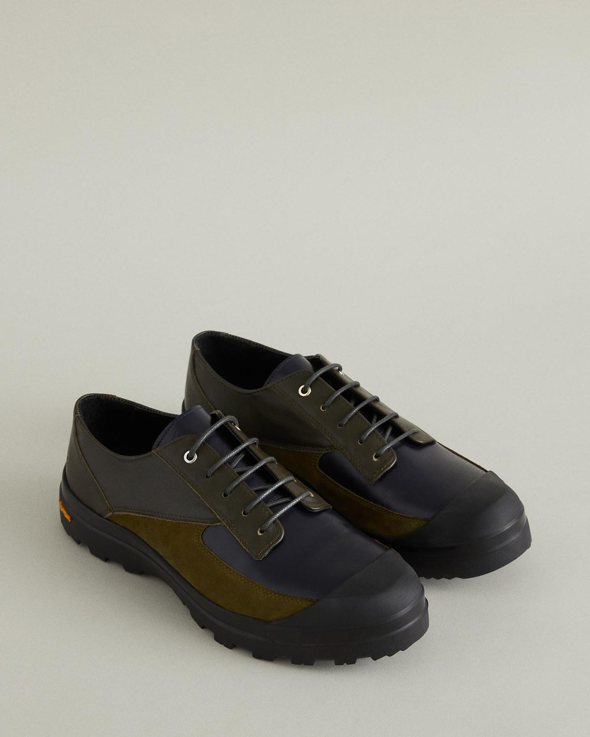 Pulkovo Leather and Nubuck Derby Shoe