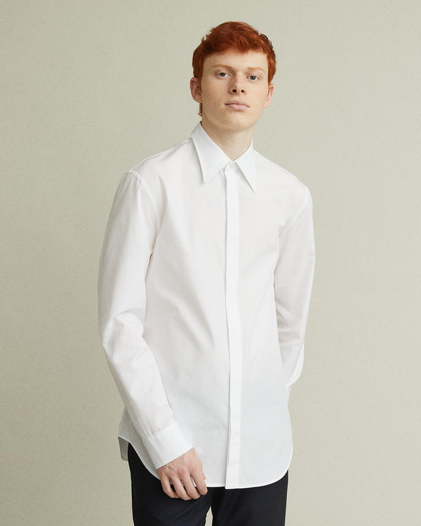 Slim Fit Collared Shirt