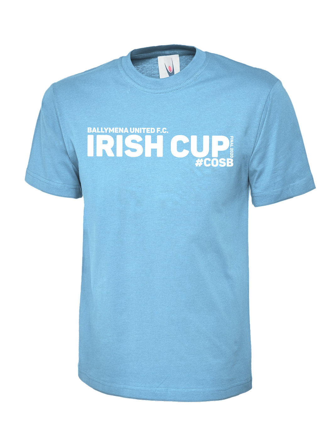 Adult Ballymena Utd Irish Cup Final Tee2