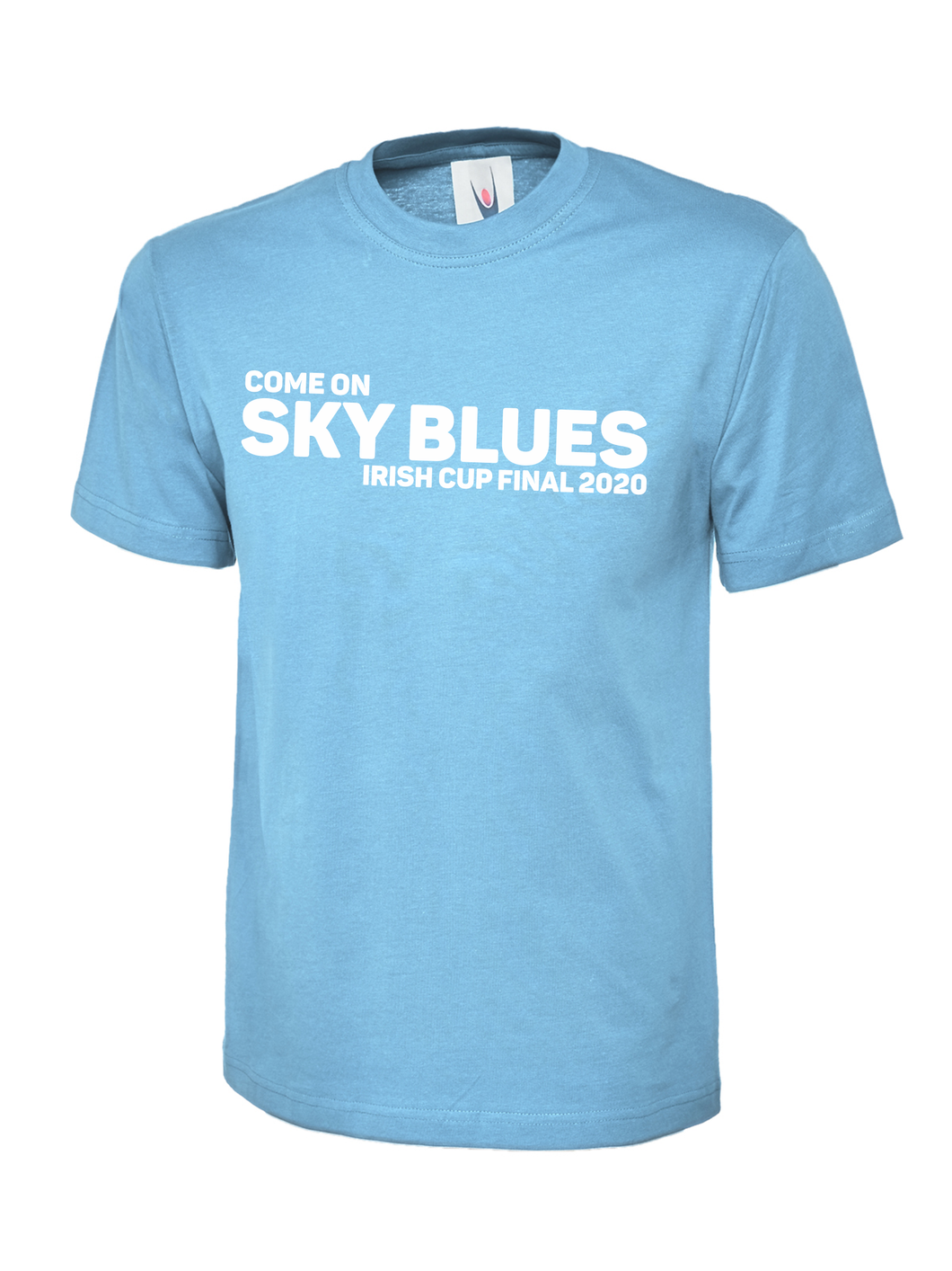 Kids Ballymena Utd Irish Cup Final Sky Blue Tee