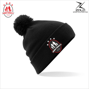 Chimney Corner Hawks Bobble Hat