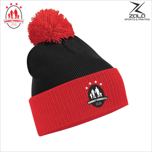Chimney Corner Hawks Contrast Bobble Hat
