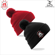 Load image into Gallery viewer, Chimney Corner Hawks Bobble Hat
