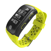 S908 GPS Smartband Heart Rate Sleep Monitor Message Sedentary Reminder Pedometer IP68 Waterproof for IOS Android Phone