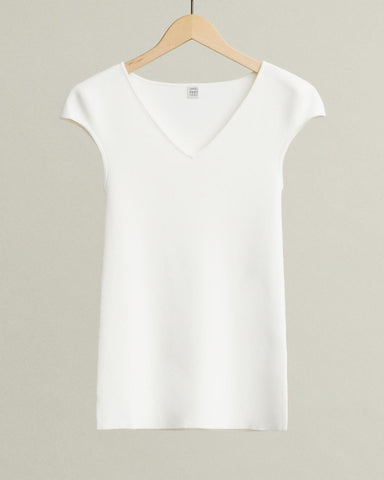 cap-sleeve-v-neck-t-shirt