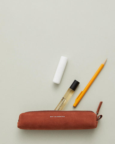 cartier nubuck pencil case