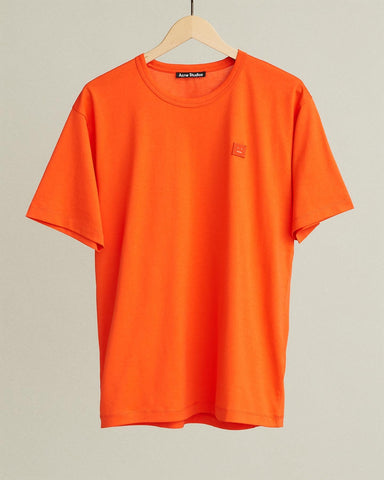 classic fit short sleeve face t-shirt