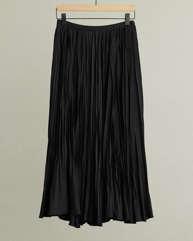 irregular-pleated-midi-skirt