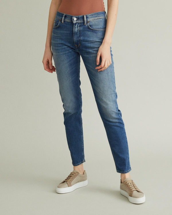 Melk High-Waisted Tapered Jean