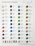 Fancy Stone Color Chart