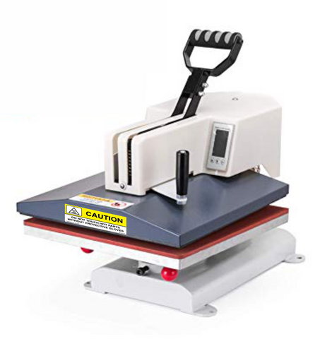 SM4040 Heat Press Machine /  15″ x 15″ (38cm x 38cm) / Swing-away