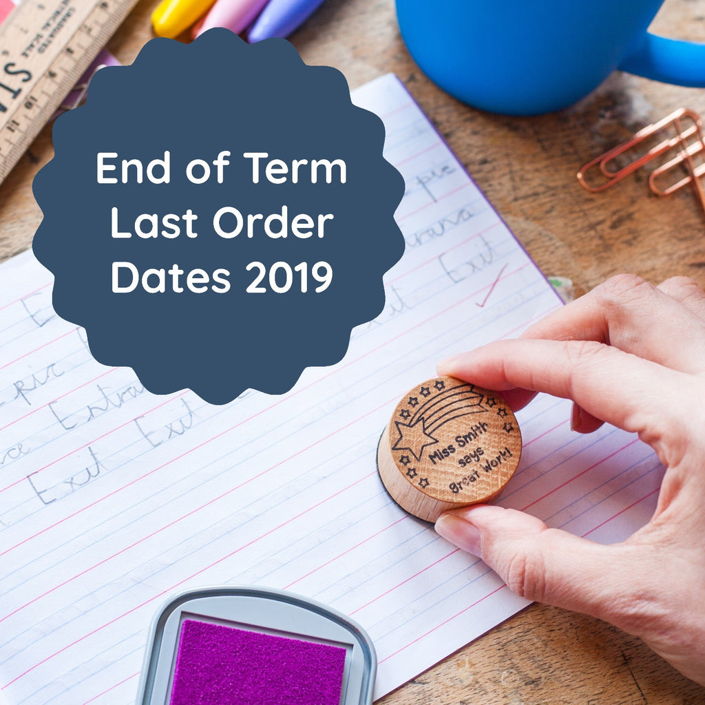 Last Order Dates for Teacher Stamps