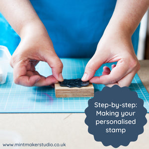 Step by Step - the process of making your personalised stamp order