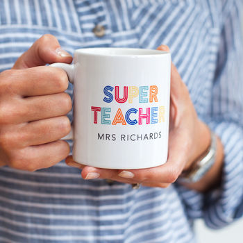 Super Teacher Mug