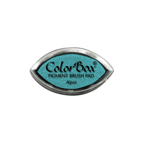 Aqua Colorbox cat's eye mini ink pad