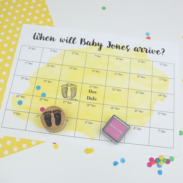 Personalised Baby Shower Game