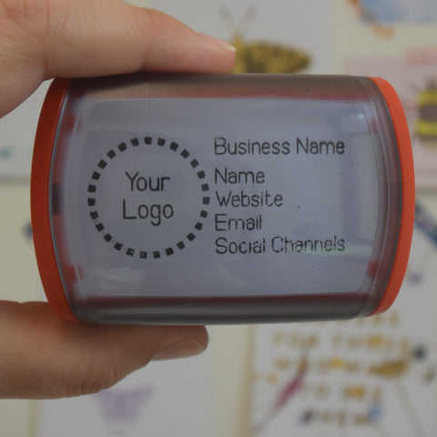 Self Inking Logo and Business Card Stamp