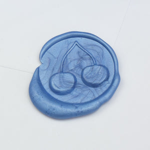 Pair of Cherries Wax Seal Stamp