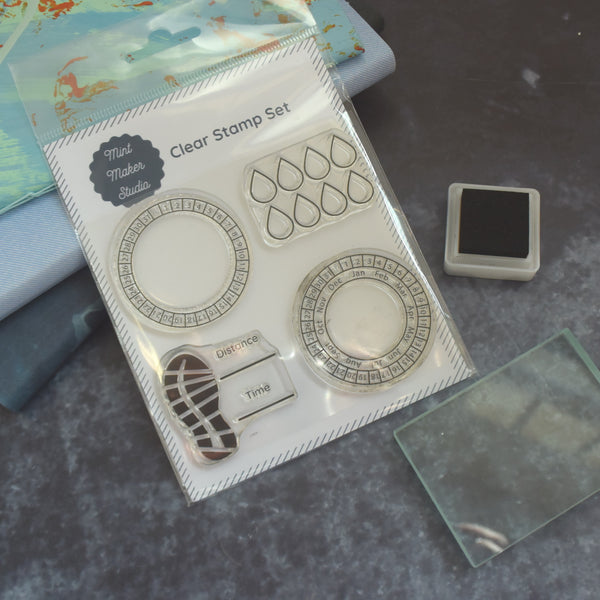 Clear Bullet Journal Stamps - Perpetual Calendars and Trackers