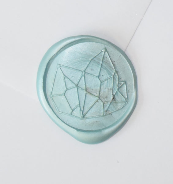 Crystal Gem Wax Seal Stamp